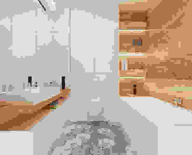 Salle de bain scandinave par Ale design Grzegorz Grzywacz Scandinave
