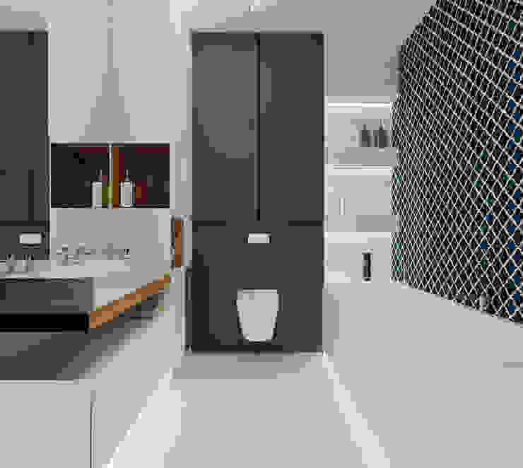 Ale design Grzegorz Grzywacz Phòng tắm phong cách hiện đại