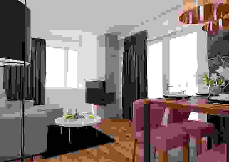 Ruang Keluarga Gaya Eklektik Oleh Ale design Grzegorz Grzywacz Eklektik