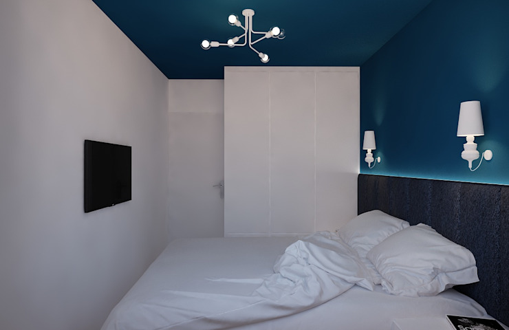 Dormitorios modernos de Ale design Grzegorz Grzywacz Moderno