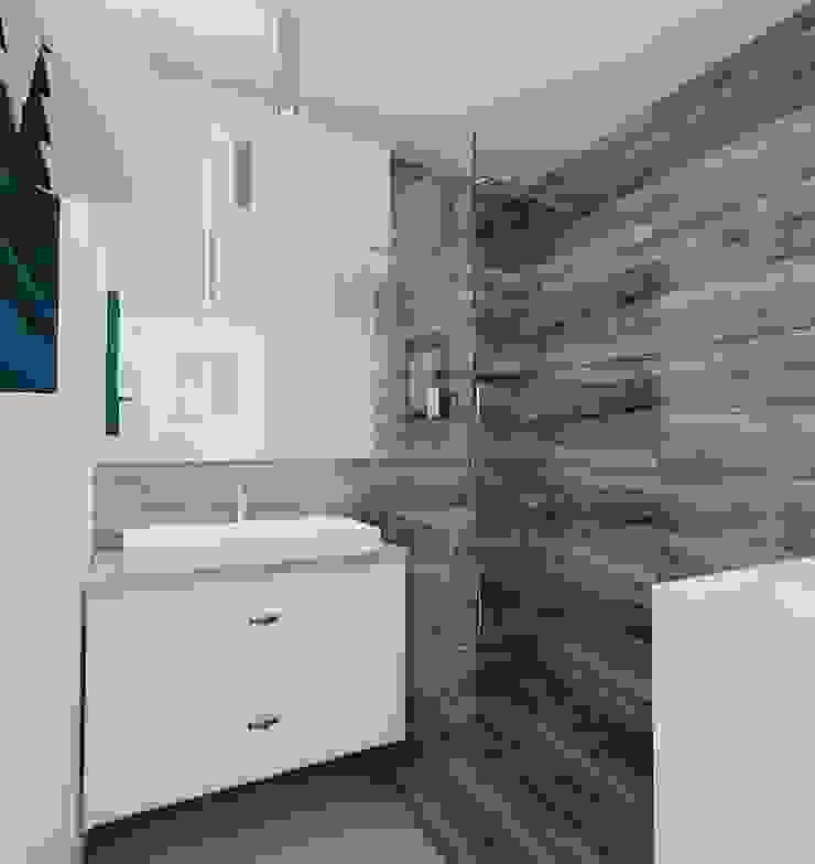 Modern bathroom by Ale design Grzegorz Grzywacz Modern