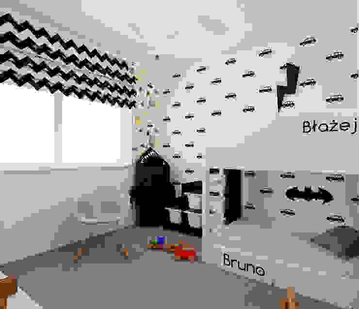 Recámaras infantiles escandinavos de Ale design Grzegorz Grzywacz Escandinavo