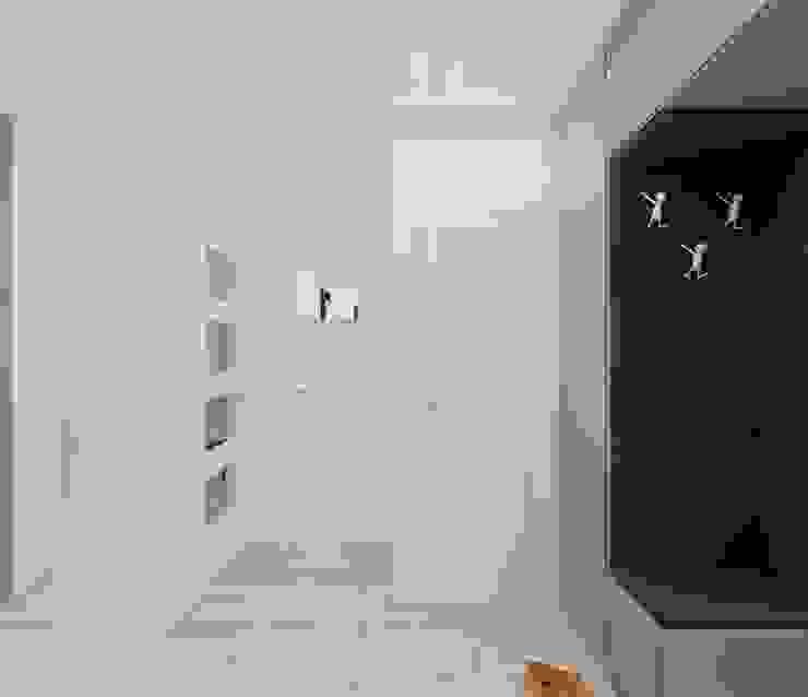 Minimalist corridor, hallway & stairs by Ale design Grzegorz Grzywacz Minimalist