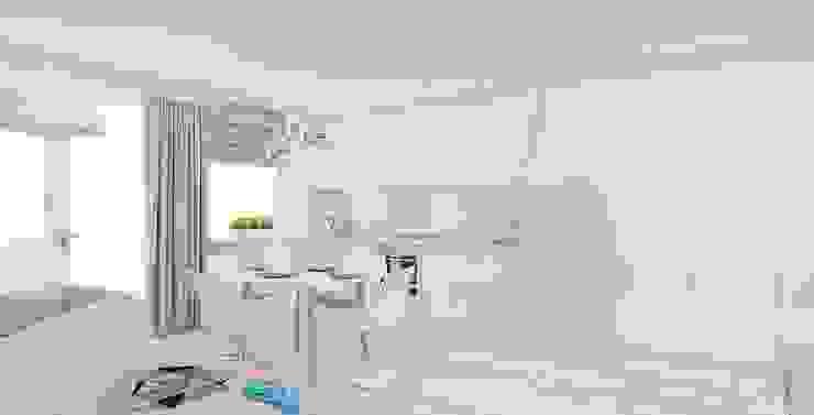Minimalist kitchen by Ale design Grzegorz Grzywacz Minimalist