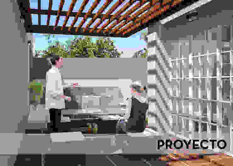 PROYECTO de D'ODORICO arquitectura Moderno