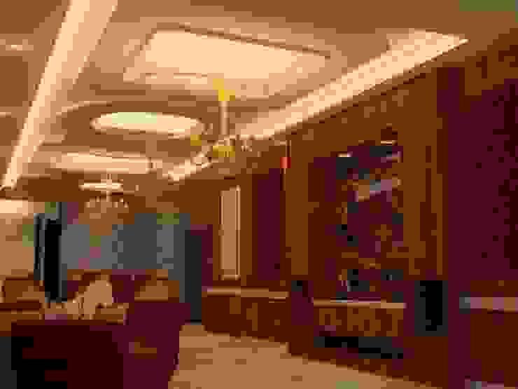 Pasillos, vestíbulos y escaleras de estilo clásico de القصر للدهانات والديكور Clásico