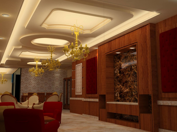 القصر للدهانات والديكور Couloir, entrée, escaliers classiques
