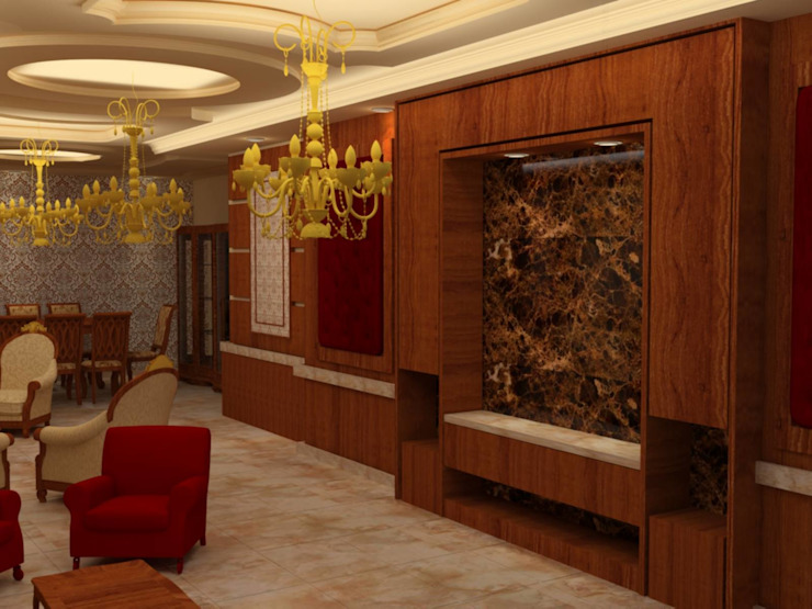 القصر للدهانات والديكور Salon classique