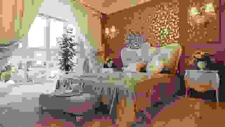 Dormitorios de estilo clásico de القصر للدهانات والديكور Clásico