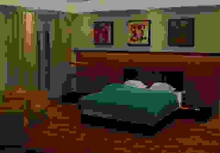 Classic style bedroom by القصر للدهانات والديكور Classic