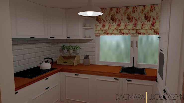 Scandinavian style kitchen by Design & Home Staging Dagmara Wołoszyn Scandinavian
