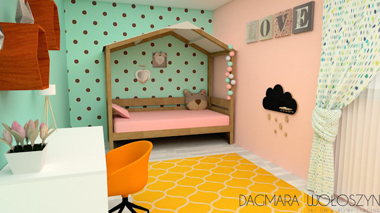 Scandinavian style nursery/kids room by Design & Home Staging Dagmara Wołoszyn Scandinavian