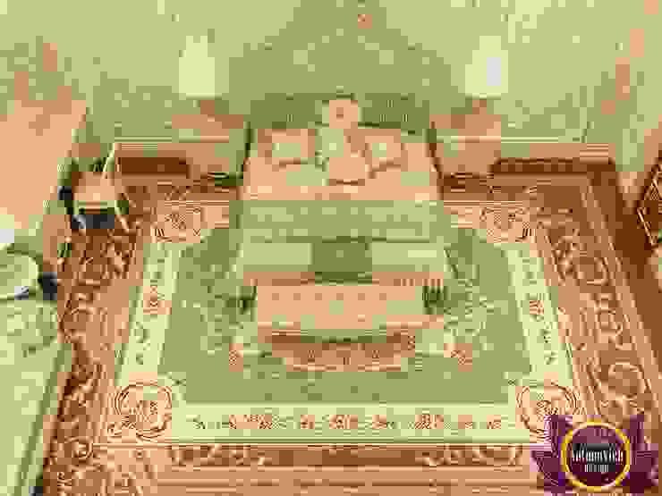 Sumptuous bedroom design of Katrina Antonovich Classic style bedroom by Luxury Antonovich Design Classic
