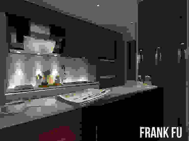 Villa in City 現代廚房設計點子、靈感&圖片 根據 中孚 設計 / FRANKFU INERIOR DESIGN 現代風