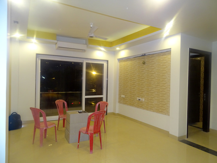 The Big 99 Modern living room by INXUS Constructions Modern