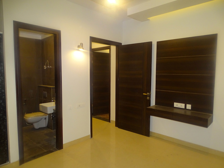 The Big 99 Modern style bedroom by INXUS Constructions Modern