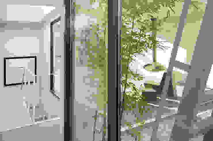 Soho Penthouse Modern Corridor, Hallway and Staircase by SA-DA Architecture Modern