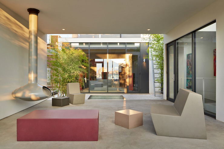 Patios & Decks by SA-DA Architecture, Modern