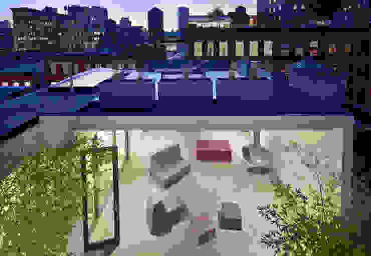 Soho Penthouse Modern Terrace by SA-DA Architecture Modern
