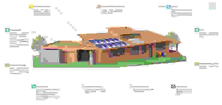Residência em Brasília Ecoeficientes Jardins modernos