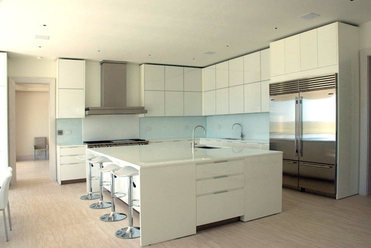 SA-DA Architecture Modern style kitchen