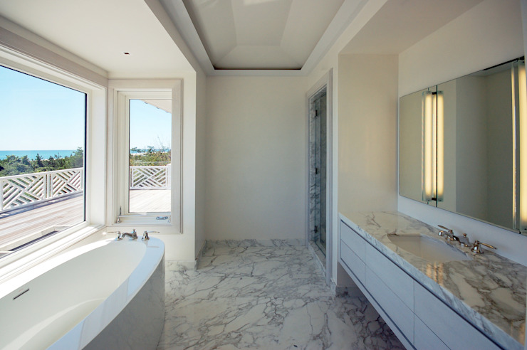 SA-DA Architecture Modern style bathrooms