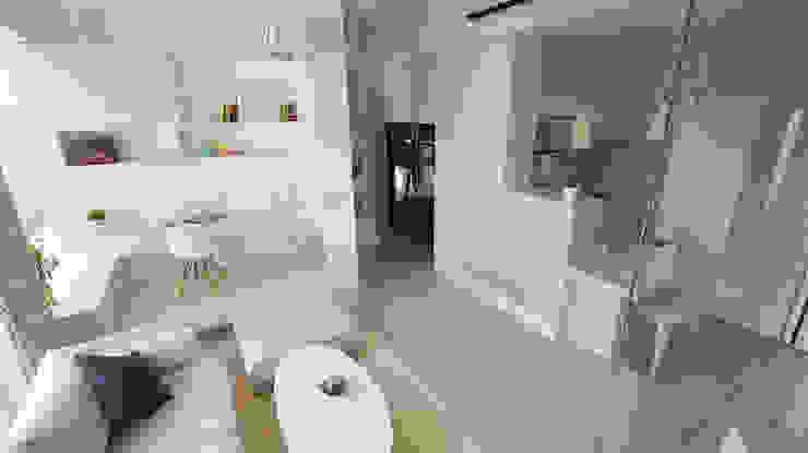 Ruang Keluarga oleh 瓦悅設計有限公司, Modern