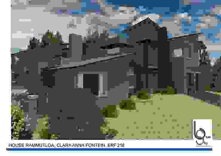 HOUSE RAMMUTLOA—Clara Anna Fontein Estate, New house 520sqm by BLUE SKY Architecture