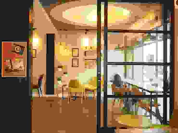สริน Coffee & Bakery โดย box89 furniture ผสมผสาน ไม้ Wood effect
