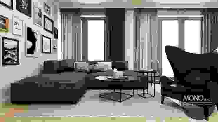 MONOstudio Eclectic style living room