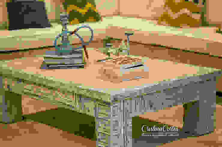 Mesa de centro sala de Tv de Cristina Cortés Diseño y Decoración Moderno
