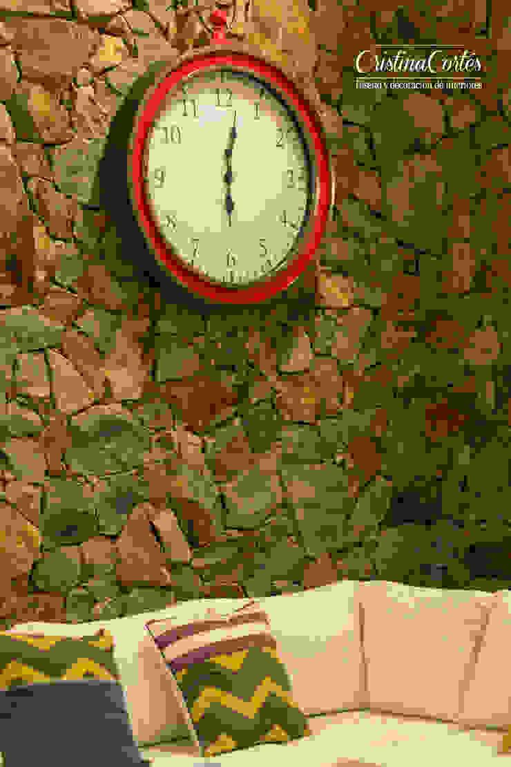 Reloj de pared de Cristina Cortés Diseño y Decoración Moderno