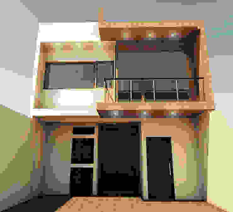 CASA SS001 Casas minimalistas de Spacio.Status/Arquitectura Minimalista Plástico