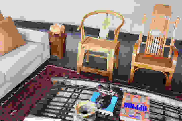Casa Estudio Sabinos - Juan Carlos Loyo Arquitectura Salones modernos de Juan Carlos Loyo Arquitectura Moderno