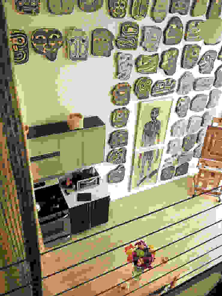Loft LA - Juan Carlos Loyo Arquitectura Pasillos, vestíbulos y escaleras modernos de Juan Carlos Loyo Arquitectura Moderno