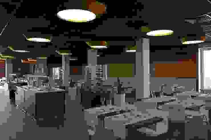 Imagem geral do espaço por Área77 - arquitectura, engenharia e design, lda Moderno