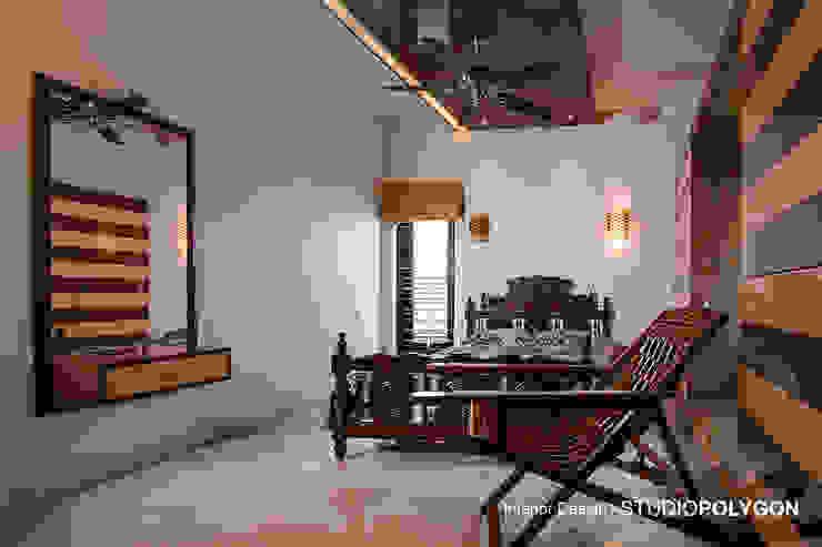 Guest bed room: modern  by Studio Polygon,Modern Wood Wood effect