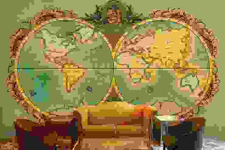 World map wallpaper designs for Office wall decor and custom wall murals for home decor. Walls and Murals wallsandmurals