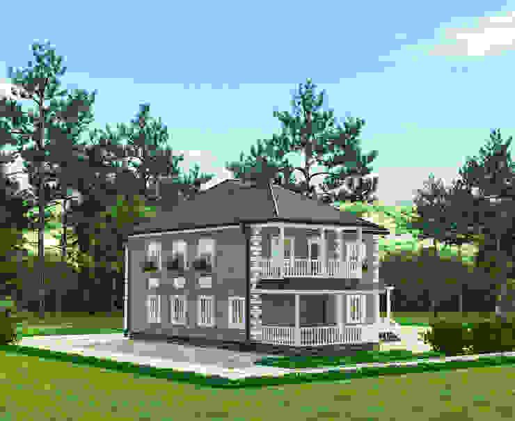 Вид 3 Дома в классическом стиле от Садовникова Наталья Евгеньевна Классический