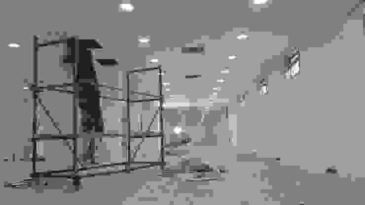 MAG Tasarım Mimarlık – Garanti İplik Çorlu – Seminer Salonu: modern tarz , Modern