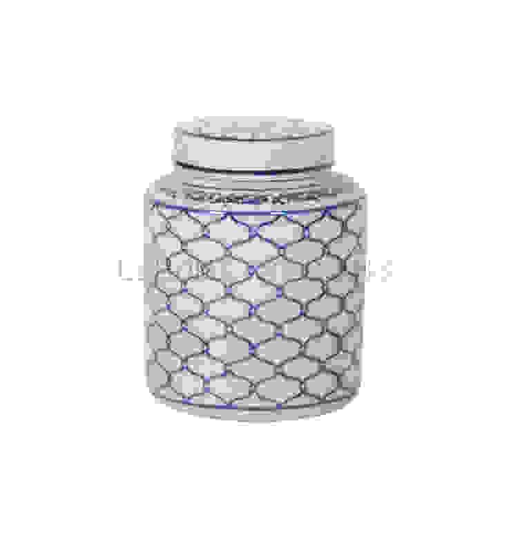 Емкость с крышкой V1412 от LeHome Interiors Классический Керамика