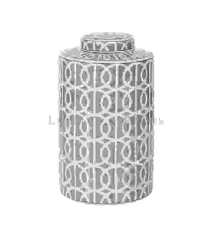 Емкость с крышкой V1418 от LeHome Interiors Классический Керамика