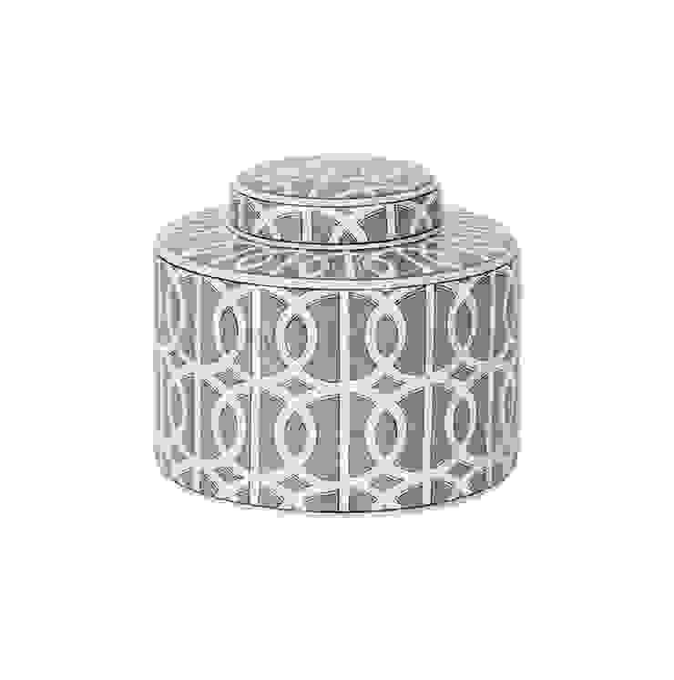 Емкость с крышкой V1420 от LeHome Interiors Классический Керамика