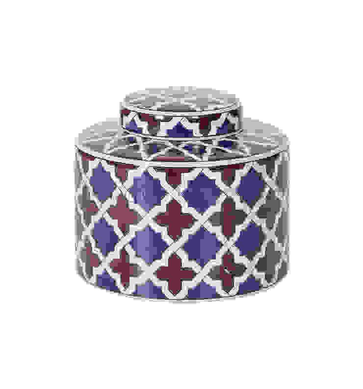Емкость с крышкой V1422 от LeHome Interiors Классический Керамика