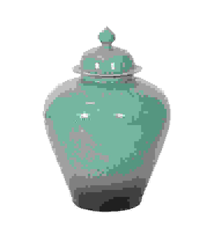Ваза с крышкой V1426 от LeHome Interiors Классический Керамика
