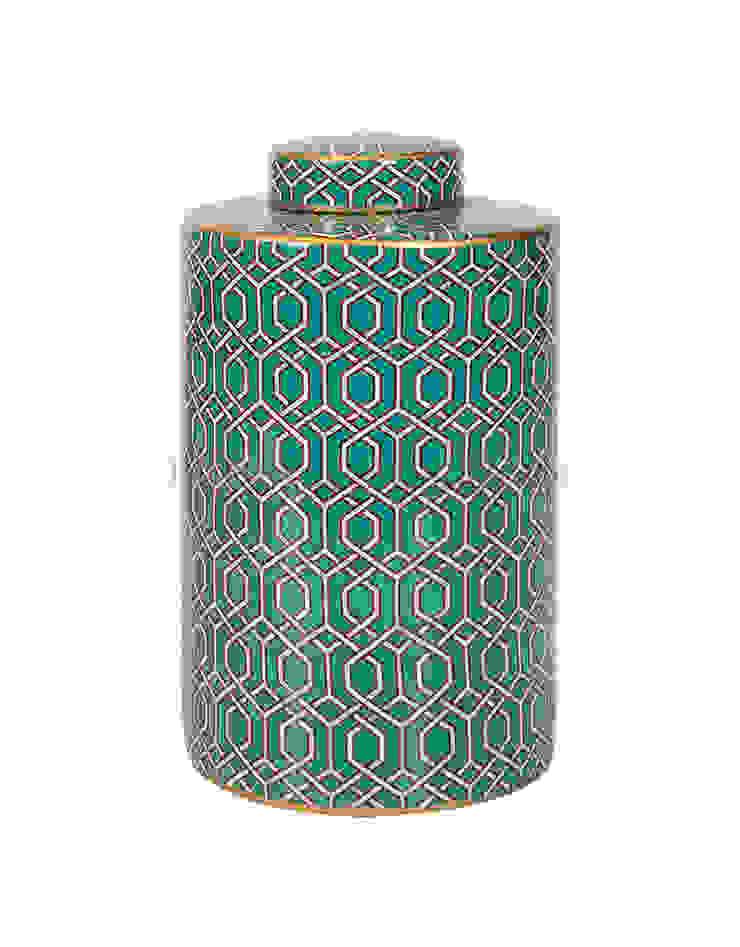 Емкость с крышкой V1430 от LeHome Interiors Классический Керамика