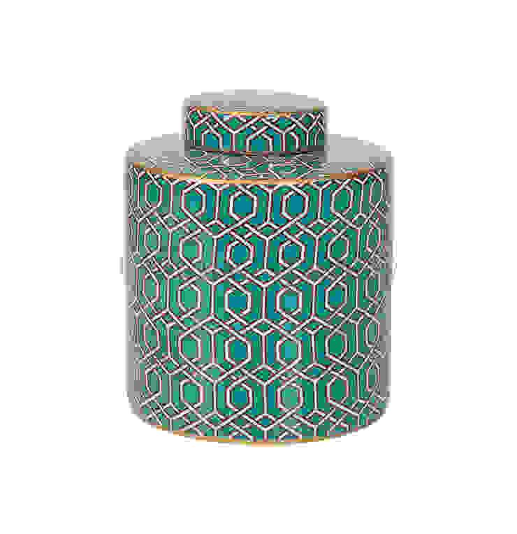 Емкость с крышкой V1431 от LeHome Interiors Классический Керамика