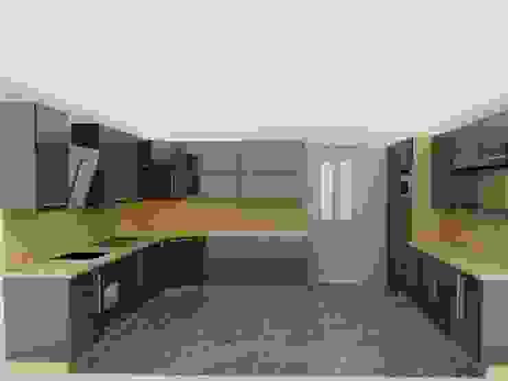 Modern Kitchen by İÇ MİMAR EGEMEN Modern Wood Wood effect