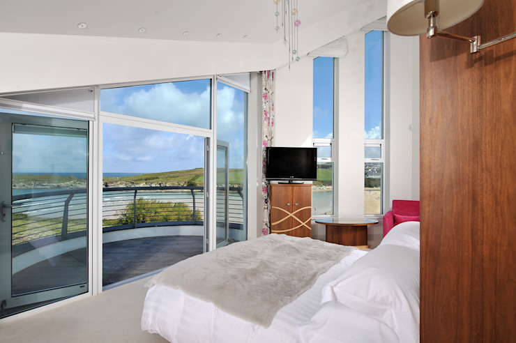 Sea House, Porth | Cornwall Perfect Stays Eclectic style bedroom