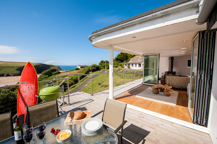 Headlands, Mawgan Porth | Cornwall Case eclettiche di Perfect Stays Eclettico